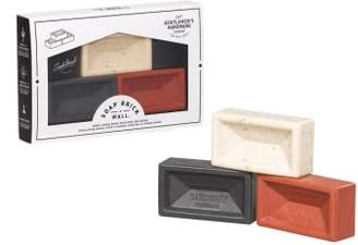 WILD AND WOLF Brick Brick Wall Soap Trio