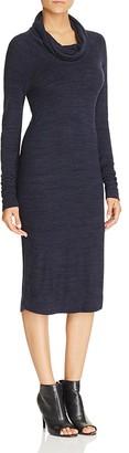 Three Dots Harriet Cowl Neck Sweater Dress $128 thestylecure.com