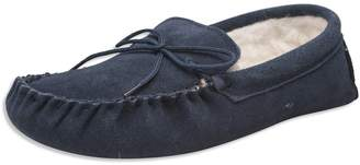 Nordvek Ladies Genuine Lambswool Moccasin Slippers Soft Suede Sole # 431-100 - , 8 UK (10.0 M CA Women)