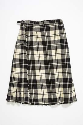 Vintage Loves Vintage Plaid Wool Skirt
