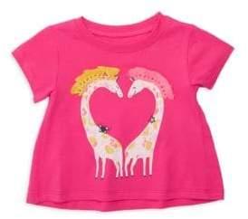 Hatley Baby Girl's Sweet Giraffes Tee