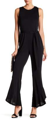 Vince Camuto Flared Bell Cuff Sleeveless Jumpsuit