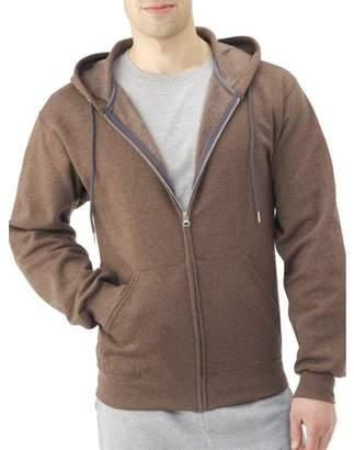 Fruit of the Loom Big Men's Dual Defense Fleece Full Zip Hooded Sweatshirt