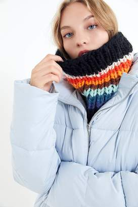 Urban Outfitters Chunky Knit Gaiter Infinity Scarf