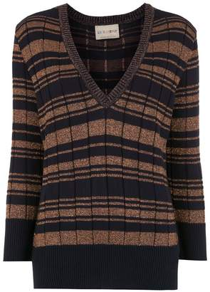 Andrea Bogosian striped knitted sweater