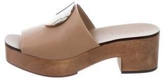 Mercedes Benz Castillo Kamilla Wooden Sandals