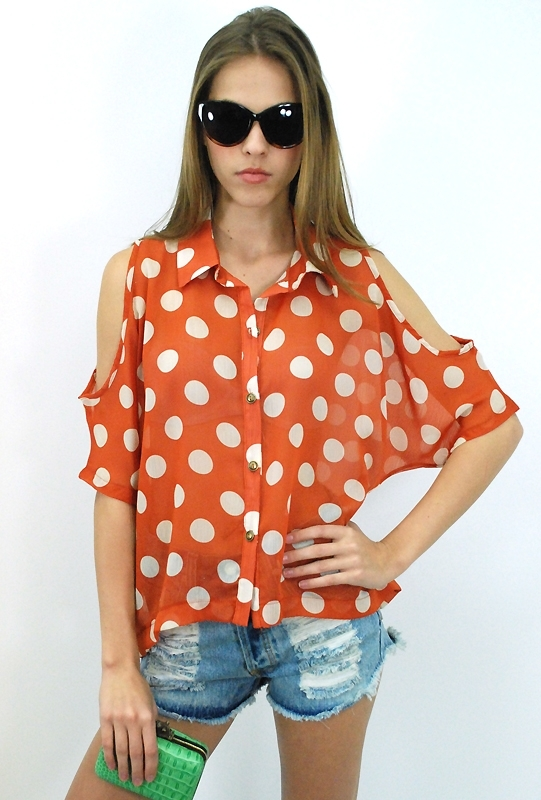 Cut It Out Blouse