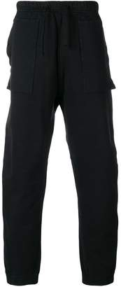 Stone Island Shadow Project high waisted track trousers