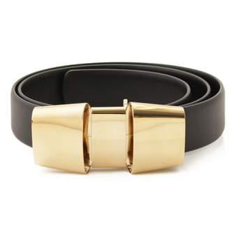 Celine Black Leather Belts