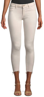 DL1961 Premium Denim Florence Mid-Rise Cropped Instasculpt Skinny-Leg Jeans