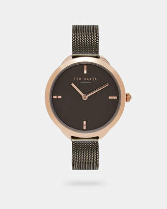 Ted Baker ELANIA Contrast mesh strap watch