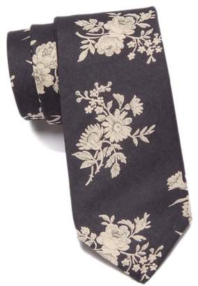 Original Penguin Gallagher Floral Skinny Tie