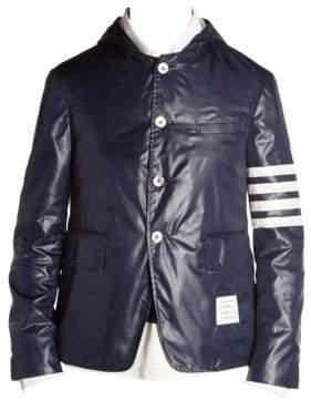 Thom Browne Deconstructed Stripe Sleeve Sport Jacket