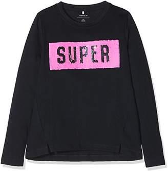 Name It Girl's Nkfleisa Ls Long Sleeve Top,(Manufacturer Size: 158-164)