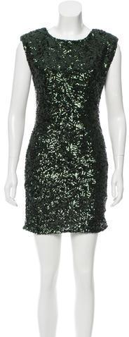 Alice + OliviaAlice + Olivia Sequined Mini Dress