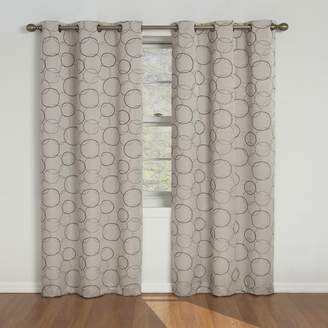 Eclipse Meridian Blackout Window Curtain Panel, 42 X-Inch