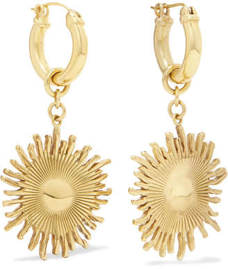 Scully Gold-plated Hoop Earrings