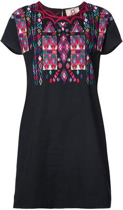 Figue Tia embroidered T-shirt dress