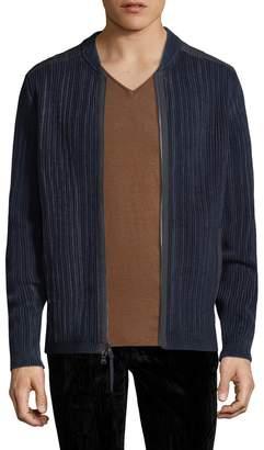 John Varvatos Men's Zip-Up Cardigan