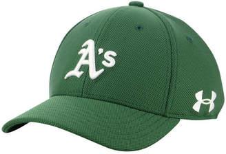 Under Armour Boys' Oakland Athletics Adjustable Blitzing Cap