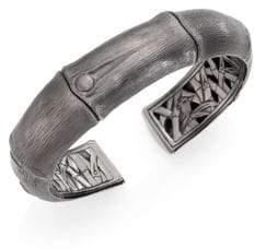 John Hardy Bamboo Kick Cuff Bracelet