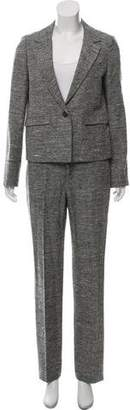 Chloé Wool Notch-Lapel Pant Suit