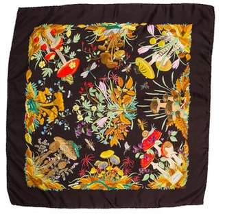 Gucci Silk Square Scarf