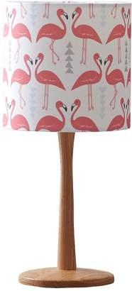 Rosa & Clara Designs - Flamingo Flourish Lampshade White Small