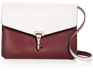 Burberry Two-Tone Leather Convertible Crossbody