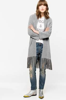 Zadig & Voltaire Paloma Deluxe Cashmere cardigan