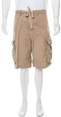 Burberry Woven Cargo Shorts