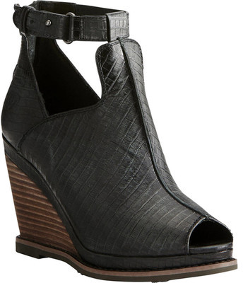 AriatWomen's Ariat Backstage Ankle-Strap Peep-Toe Wedge