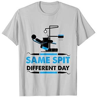 Dental Hygienists Gift Shirt Dentist Gift Same Spit Graphic