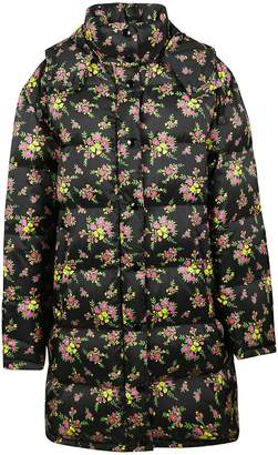 Gucci Floral Bouquets Padded Jacket