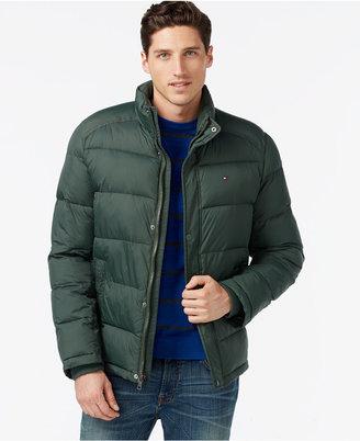 Tommy Hilfiger Men's Big & Tall Classic Puffer Coat $215 thestylecure.com