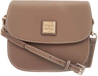 Dooney & Bourke Vachetta Leather Saddle Crossbody