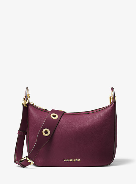 MICHAEL Michael Kors Michael Kors Raven Medium Leather Messenger Bag