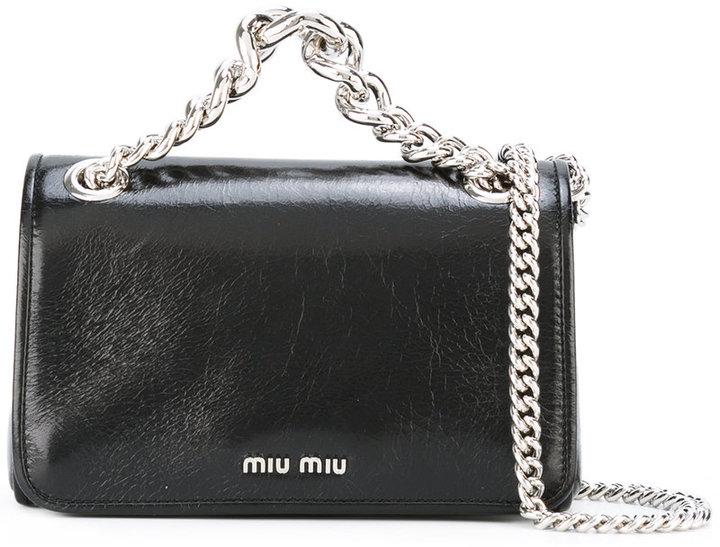 Miu MiuMiu Miu flap shoulder bag