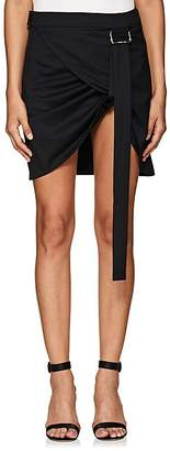Helmut Lang Women's Wool Wrap Miniskirt