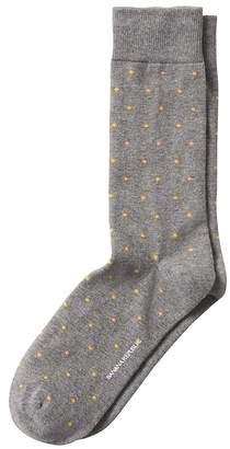 Banana Republic Treyden Dot Sock