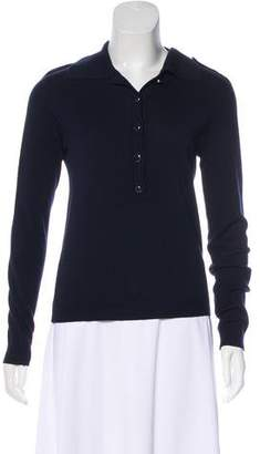 Vanessa Seward Merino Wool Polo Top