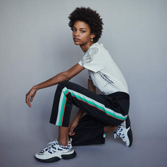 Maje Sport pants with contrasting side bands