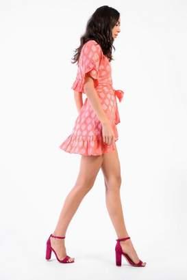 Glamorous **Printed Wrap Dress