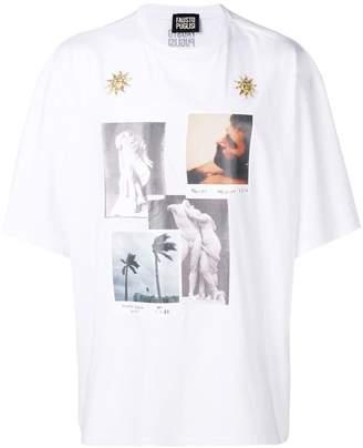 Fausto Puglisi photo print T-shirt