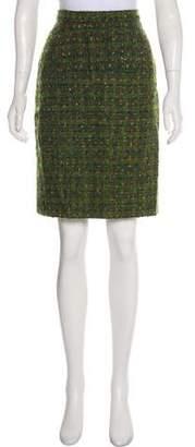 Chanel Bouclé Skirt