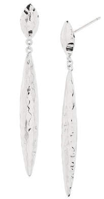Gorjana Nora Mid Drop Earrings, Silver