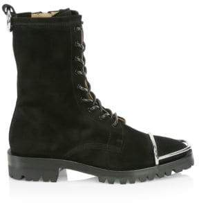 Alexander Wang Kennah Toe Guard Suede Boots