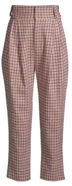 Maggie Marilyn Sheer Joy Check Pants