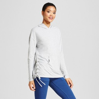 Mossimo Supply Co. Women's Side Lace-Up Hoodie - Mossimo Supply Co. $17.99 thestylecure.com