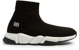 Balenciaga Kids - Unisex Speed Trainers - Black